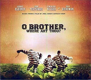 O Brother, Where Art Thou? (2000) es el único film de los Coen que no cuenta con música original de Carter Burwell