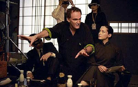 Tarantino dirigiendo 'Kill Bill'