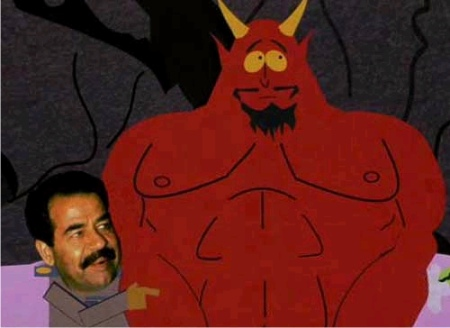 Sadam Hussein en 'South Park'