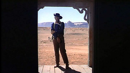 Ethan Edwards (John Wayne) en 'Centauros del desierto' (The searchers)