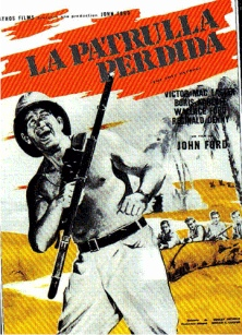 1934. THE LOST PATROL (La patrulla perdida).