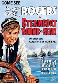 1935. STEAMBOAT ROUND THE BEND.