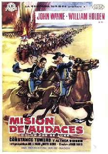 1959. THE HORSE SOLDIERS (Misión de audaces).