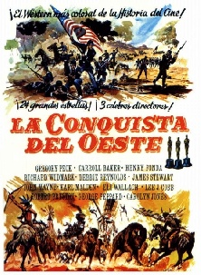 1962. HOW THE WEST WAS WON (La conquista del Oeste).