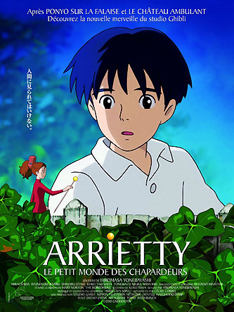 arrietty y el mundo de los diminutos karigurashi no arietty 2010 de hiromasa yonebayashi. Black Bedroom Furniture Sets. Home Design Ideas