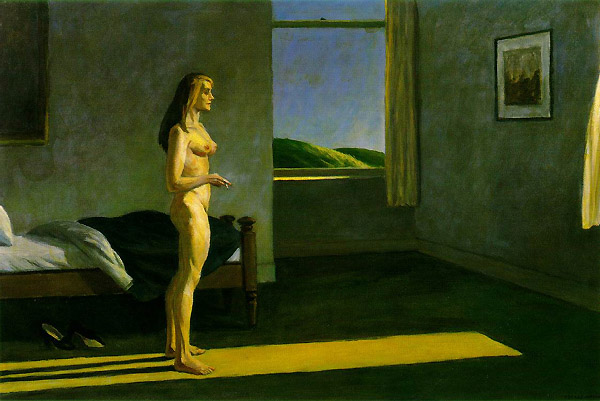 hopper-A woman in the sun 61