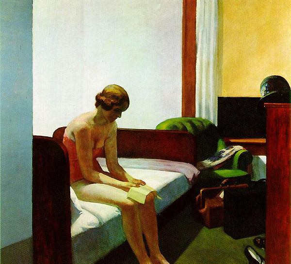 hopper-Hotel room 1931